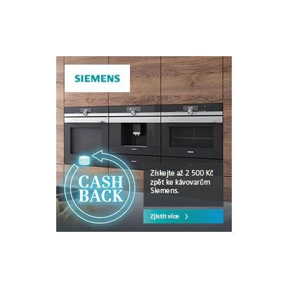 SIEMENS - cashback kávovary