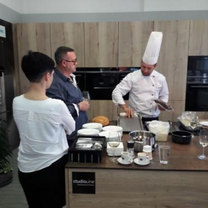 Ukázkové vaření se Siemensem
